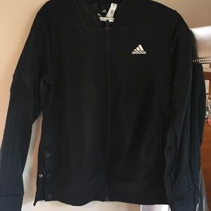 Black adidas track jacket